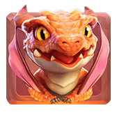 dragon-red
